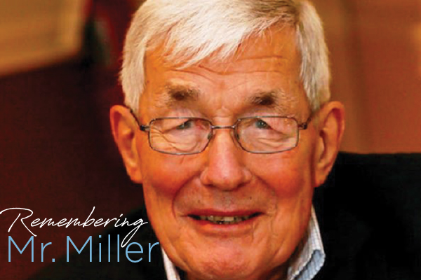 Remembering Mr. Miller