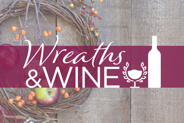 Signup for Wreaths and Wine event