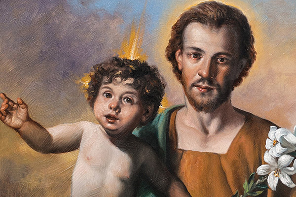 St.Joseph and Jesus